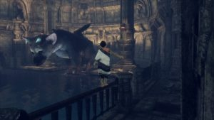 Gameplay The last Guardian